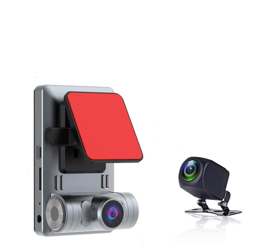 Dash Cam smart Camera Registrar 3 inch touch screen HD 1296P Car DVR Car Recorder Auto Driving Recorder Dual Lens 24H Parking