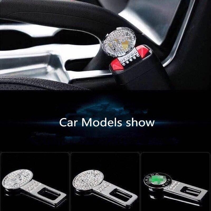 1 stücke Auto Sitz Gürtel abdeckung Clip Sicherheit Gürtel Stecker für BMW Mercedes Audi Volkswagen Honda Toyota Mazda Jeep Ford sitz Gürtel Schnalle
