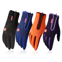 Ветрозащитные зимние теплые перчатки, лыжные перчатки, перчатки для сноуборда, мотоцикла, Зимние перчатки для сенсорного экрана