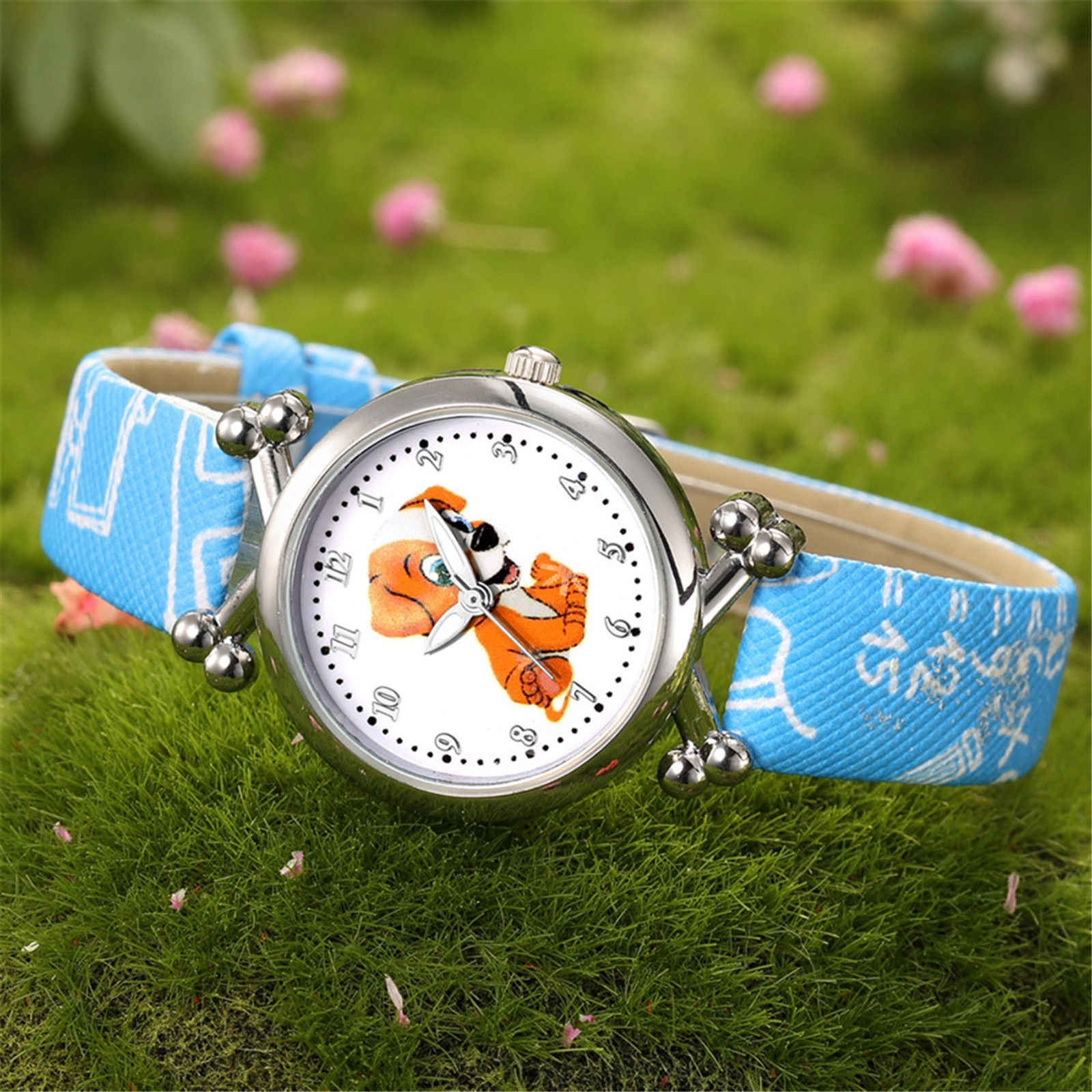 New Arrival Students Quartz Wristwatches Orologio Per Bambini Cartoon Printing Watches For Children