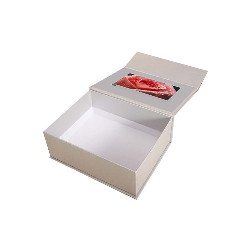 LEXINGDZ-صندوق هدايا فيديو كبير ، ورق تغليف عالي الأداء 4.3 بوصة