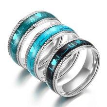 Anel de aço inoxidável da forma do ornamento do anel de aço inoxidável
