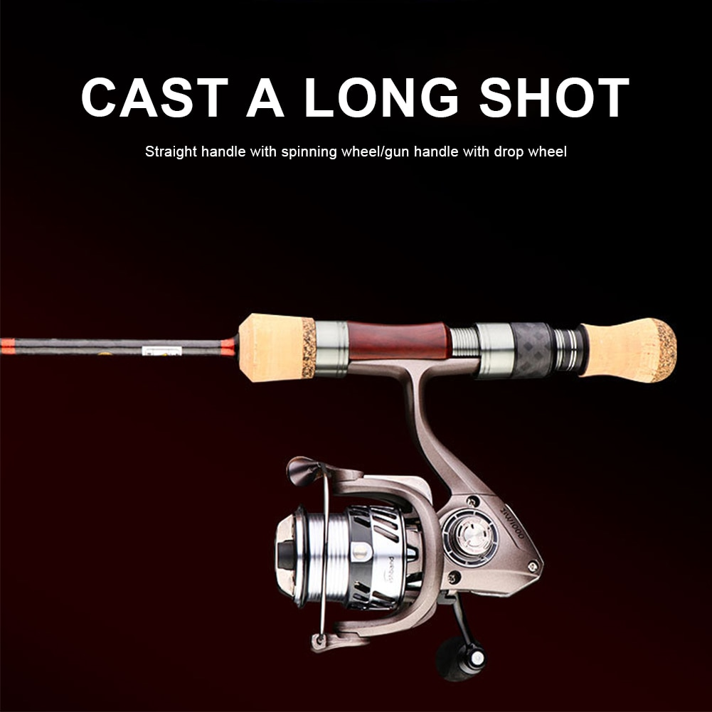 Fishing Rod Trout Rod 4 Sections FUI A ring Portable Lightweight Travel Rod High Carbon Spinning/Casting Rod Fishing Accessories enlarge