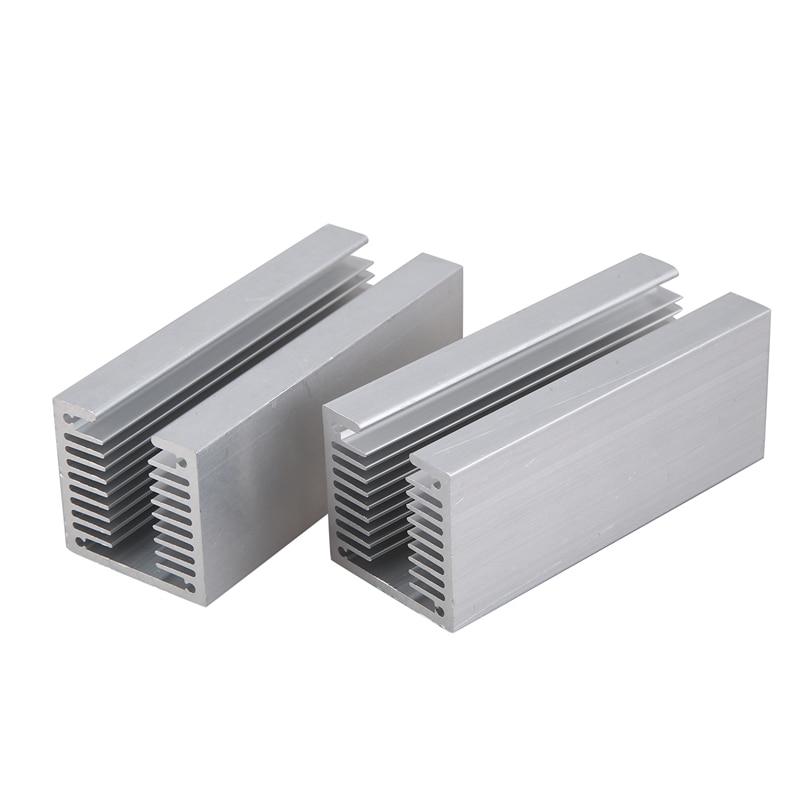 2Pcs Fan Radiator/Aluminum Heatsink/To-220 Heat Sink/To-3P Heat Sink/3P11 Heat Sink 40X40-100mm
