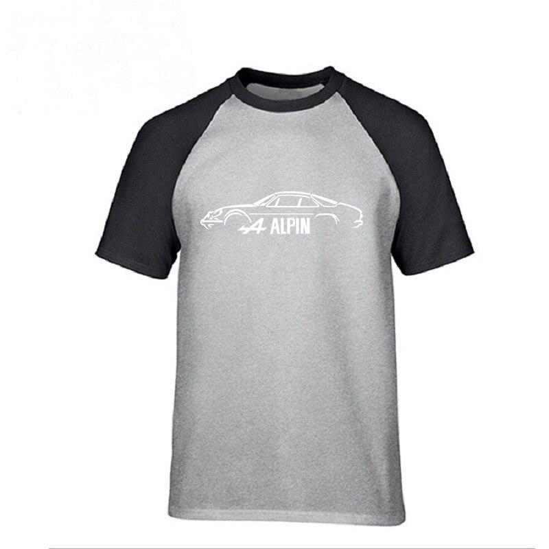 Camiseta de surf juvenil hipster topshirts Renault Alpine A110 inspirado en los hombres camiseta A alpine Car gráfico camisetas gimnasios hombres camiseta