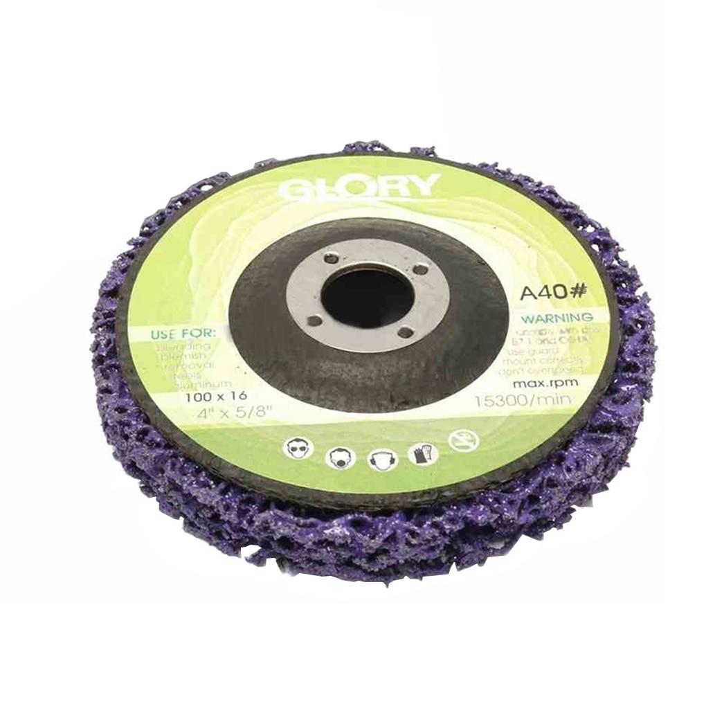 Ruota per smerigliatrice per verniciatura e rimozione della ruggine, - Utensili abrasivi - Fotografia 5