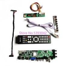 For N150X3-L01/L03/L05/L07/L08/L09/L0A 1024*768 3663 digital LVDS 30-Pin DVB-T 1CCFL USB+HDMI+AV LCD screen controller board kit