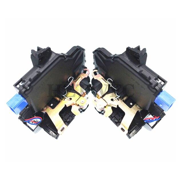 Actuador de bloqueo delantero izquierdo y derecho 2 uds de alta calidad para VW T5 POLO Skoda Fabia 3B1837015AQ y 3B1837016BC