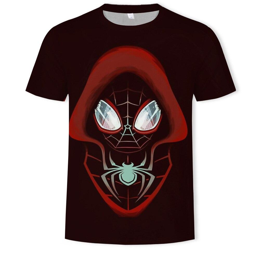 Verano Tide Cartoon Marvel digital impreso Camiseta de manga corta