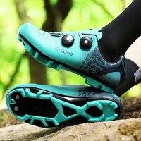 aanbieding professionele fietsen heren mtb fietsschoenen zelfblokkerende outdoor fietsen sport schoen spd racefiets schoenen