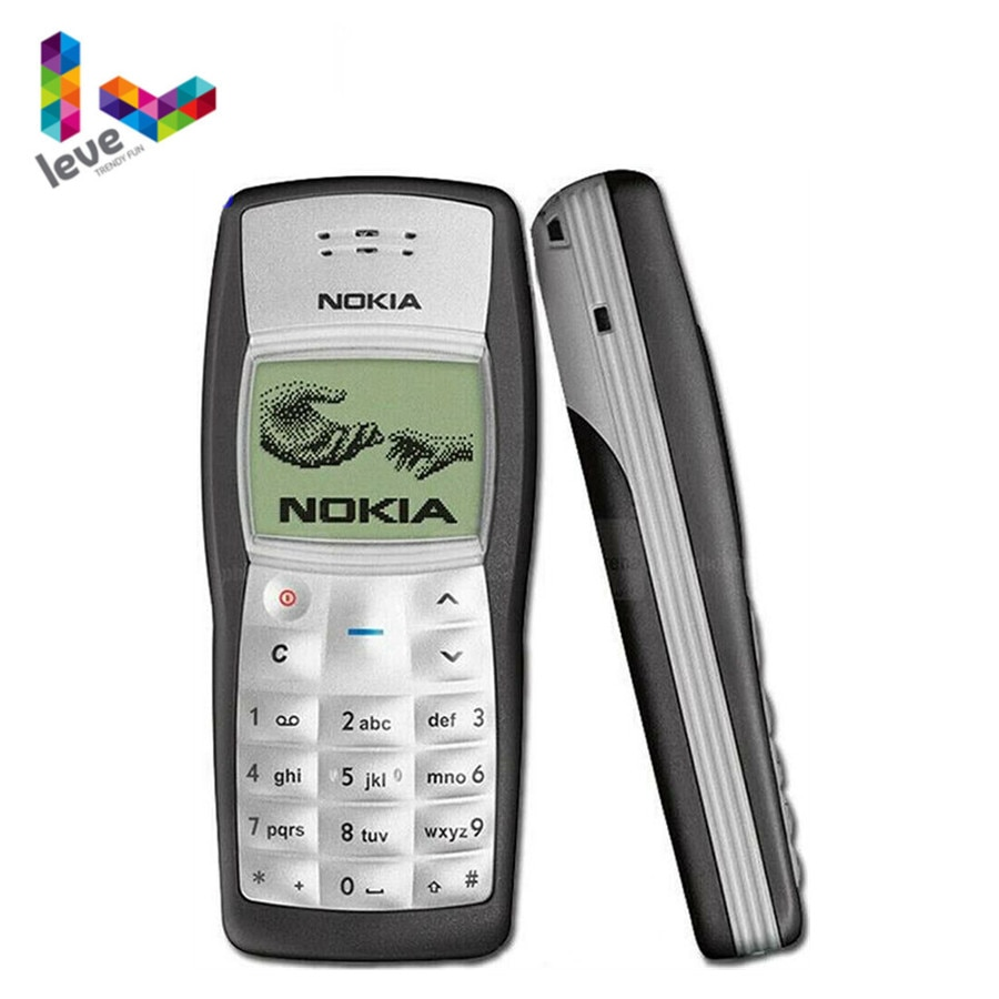Used Nokia 1100 GSM 900/1800 Support Multi-Language Unlocked Refurbished Cell Phone Free Shipping