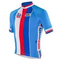 czech cycling jersey summer short sleeve jacket bicycle mtb bike downhill wear tshirt clothing road ride mountain tight mountain