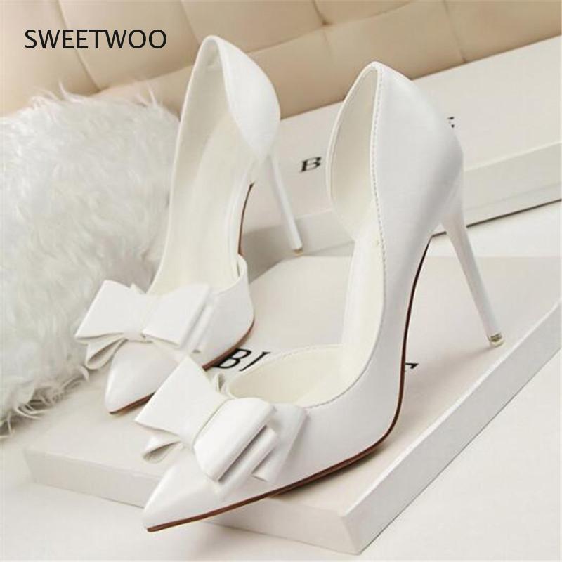 Zapatos de tacn alto y puntiagudos párr mujer de calzado Sexy para...