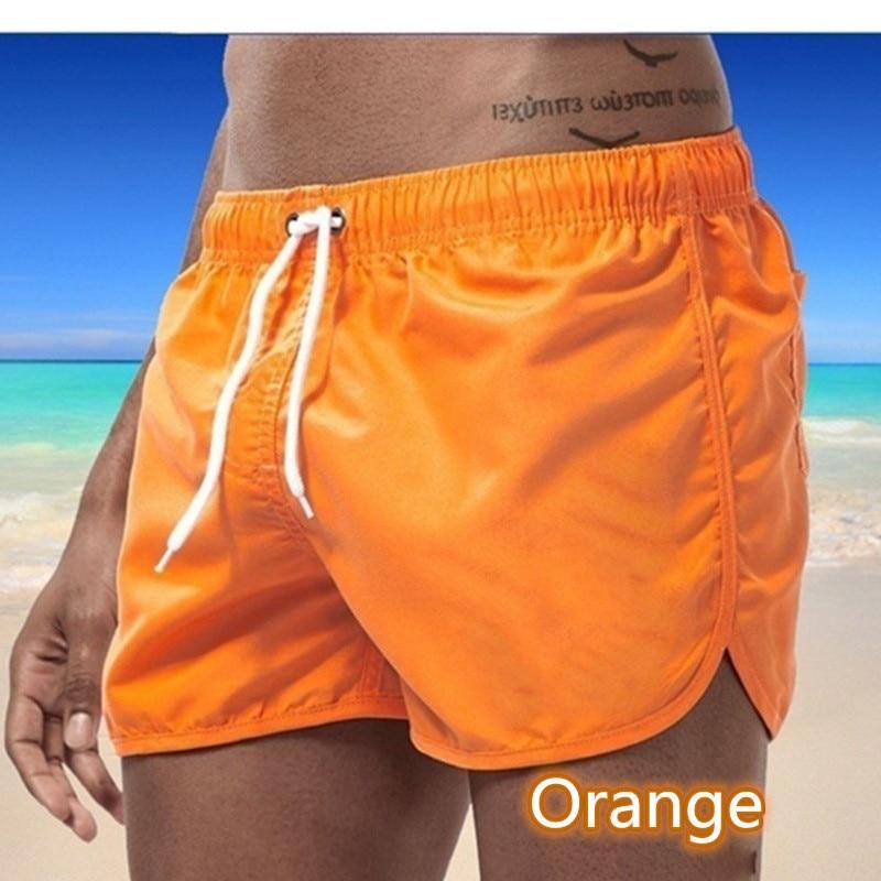 2021 летние мужские повседневные плавки, шорты, пляжные штаны, сексуальные плавки, мужские пляжные шорты, шорты для серфинга