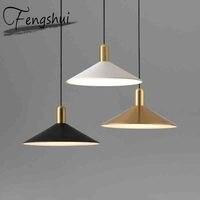 Nordic Iron LED Pendant Lights Lighting Industrial Pendant Lamp Dining Living Room Bedroom Bar Loft Home Decor Hanging Lamp