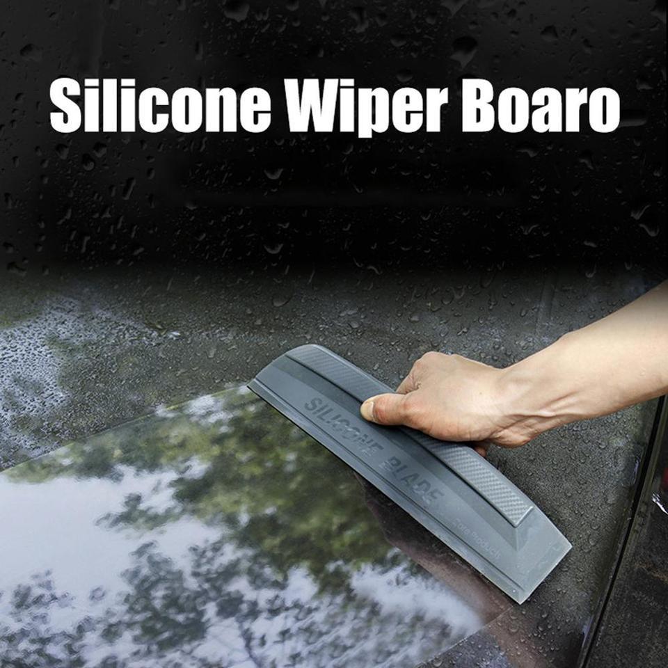 New High Quality 1pcs Silicone Car Water Wiper Squeegee Blade Wash Window Glass Car Water Wiper Tools Scraper Aliexpress