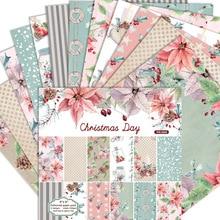 KLJUYP tampons pour Scrapbooking   12 feuilles de papier dorigami, fond dart, carte en papier pour faire du papier pour travaux manuels