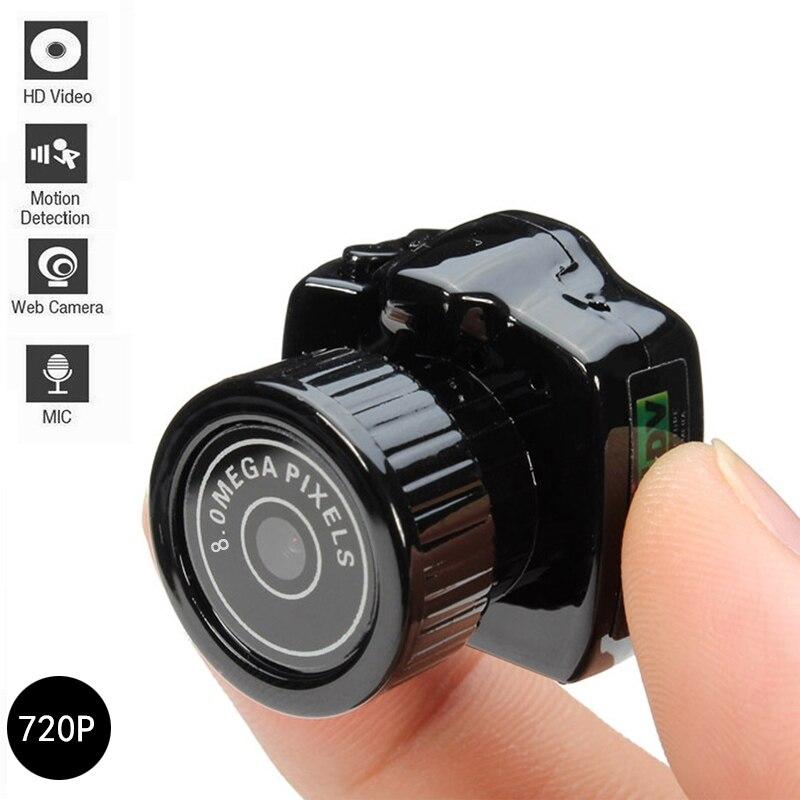 720P Мини Супер микро HD CMOS 2,0 мегапикселей карманная видео аудио цифровая камера мини видеокамера записывающее устройство DV DVR Веб-камера 720P JPG