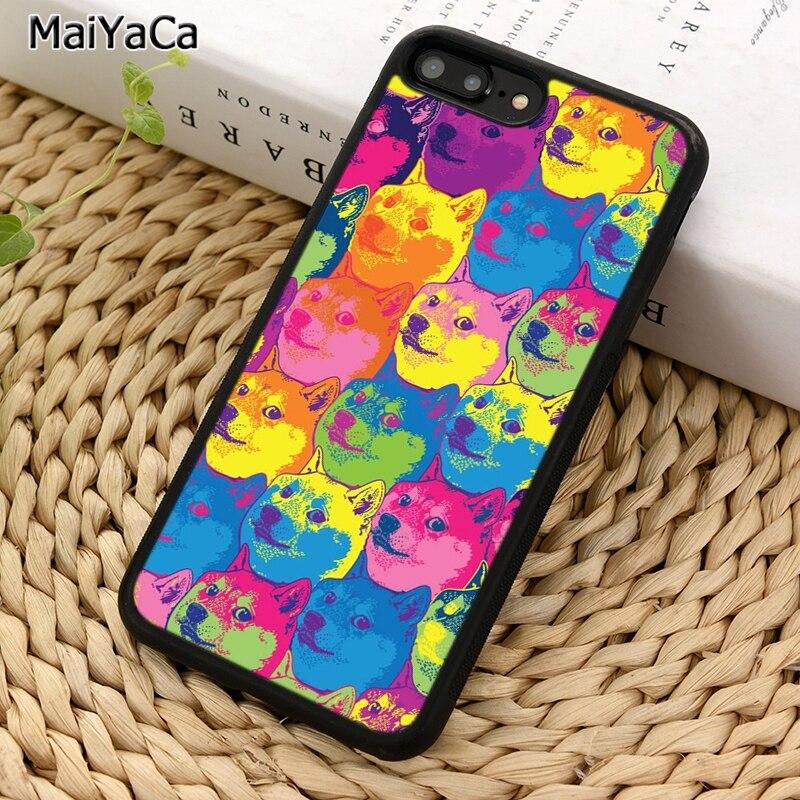 Чехол для телефона MaiYaCa DOGE MEME shaba Inu Dog для iPhone 5 6 S 7 8 plus 11 Pro X XR XS Max Samsung Galaxy S6 S7 S8 S9 S10 plus