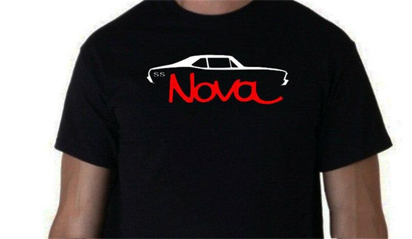1968 1969 1970 1971 1972 Chevy Nova t-shirt Ss classique Muscle Car 68 69 70 71 72 t-shirt nouveau Cool sport hauts