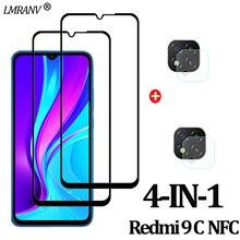Redmi-9C-NFC Glass Camera Protector for Redmi 9 C NFC Protective Glass 9A 9C Redmi Screen Protector