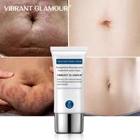 vibrant glamour crocodile stretch marks cream remove pregnancy scars postpartum scar repair wrinkles lift firming body care 30g