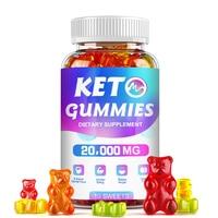 Minch Кето жевательный мармелад кетон Вес от облысения выпадения подавления аппетита Boost энергии Кето дополнение несут клейкие, способный пре...