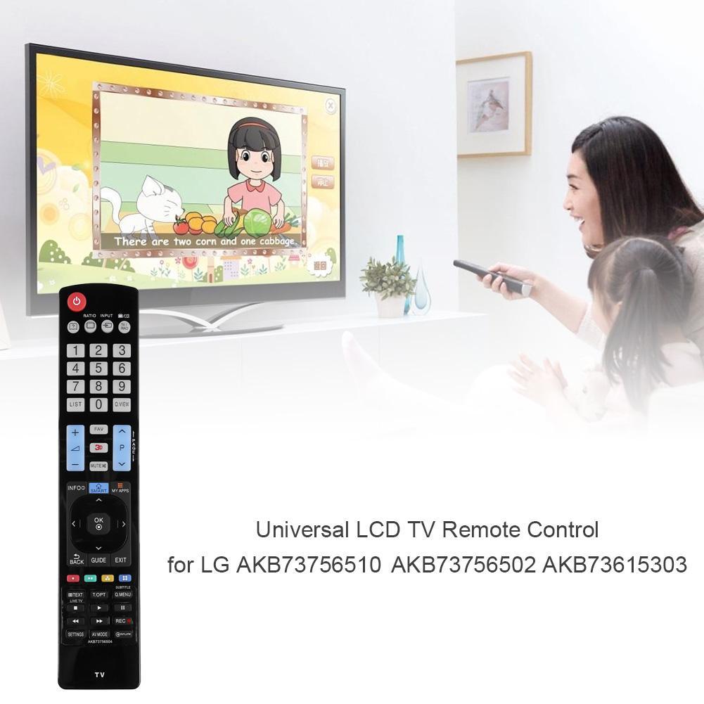 Universal LCD TV Control remoto IPTV reemplazo de Control remoto para LG AKB73756504 AKB73756510 AKB73756502 AKB73615303 32LM620T
