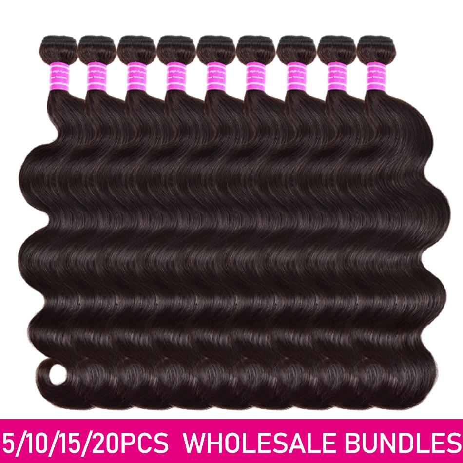 Miss Cara Brazilian Body Wave Bundles Deals 100% Human Hair Unpressed Human Virgin Hair Bundles Whol