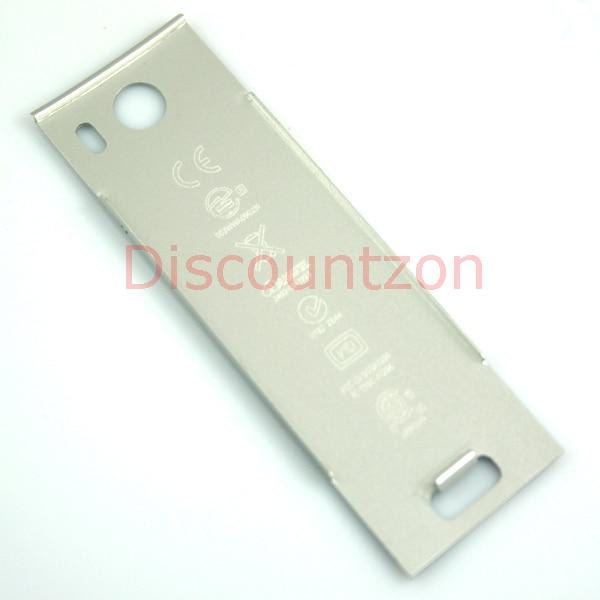 Funda de batería de ratón de aluminio auténtico y plata Original para ratón inalámbrico AppleMac MB829LL/A A1296