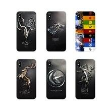 Cool Games of Thrones For LG G3 G4 Mini G5 G6 G7 Q6 Q7 Q8 Q9 V10 V20 V30 X Power 2 3 K10 K4 K8 2017 TPU Transparent Shell Covers