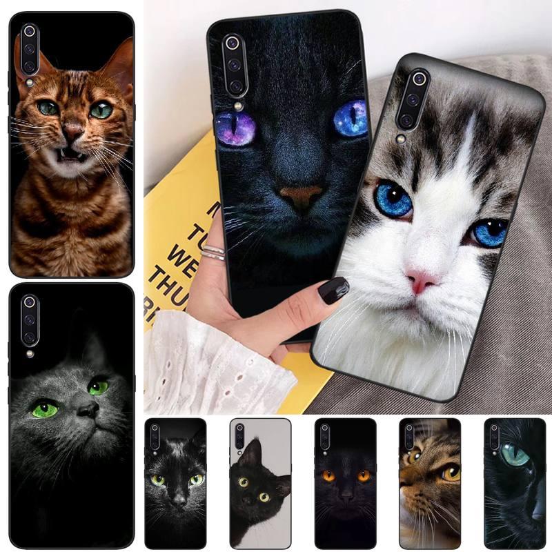 LJHYDFCNB Ruthless Gato TPU carcasa negra para teléfono carcasa para Xiaomi mi 6 6plus a2 8 8se a2lite 8lite 9 9se mix2