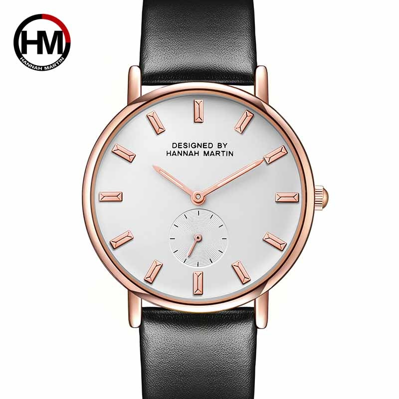 Hannah Martin Fashion Quartz Wristwatch Women Luxury Brand Casual Ladies Watch Life Waterproof Clock Gifts for Women Reloj Mujer hannah martin wristwatch women watches luxury brand quartz steel strap female watch diamond ladies watch clock women reloj mujer