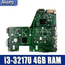 Akemy için ASUS X551CA X551C F551C i7-6500u dizüstü anakart i3-3217U 4GB RAM 100% test çalışmaları orijinal anakart