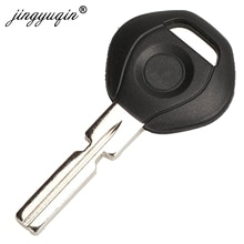 jingyuqin 10pcs Car Transponder Chip Key Shell Case Fob For BMW 3 5 6 series X3 X5 Z4 Z8 fit E36 E34 E38 E39 HU58 Blade Replace