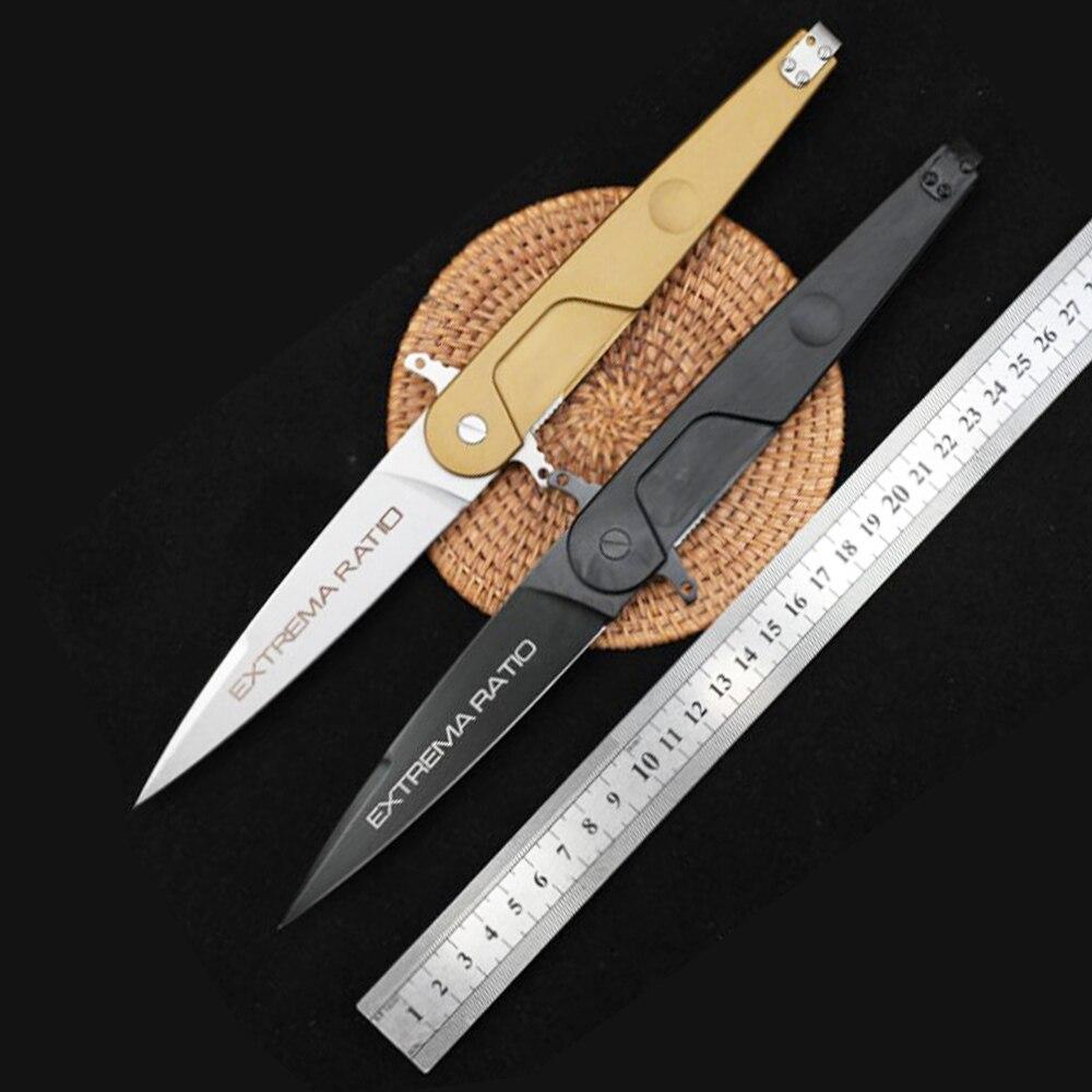 MANCROZ في الهواء الطلق سكين للفرد N690 شفرة 6061 مقبض ألمونيوم صلابة عالية السكاكين التكتيكية المتطرفة BD4