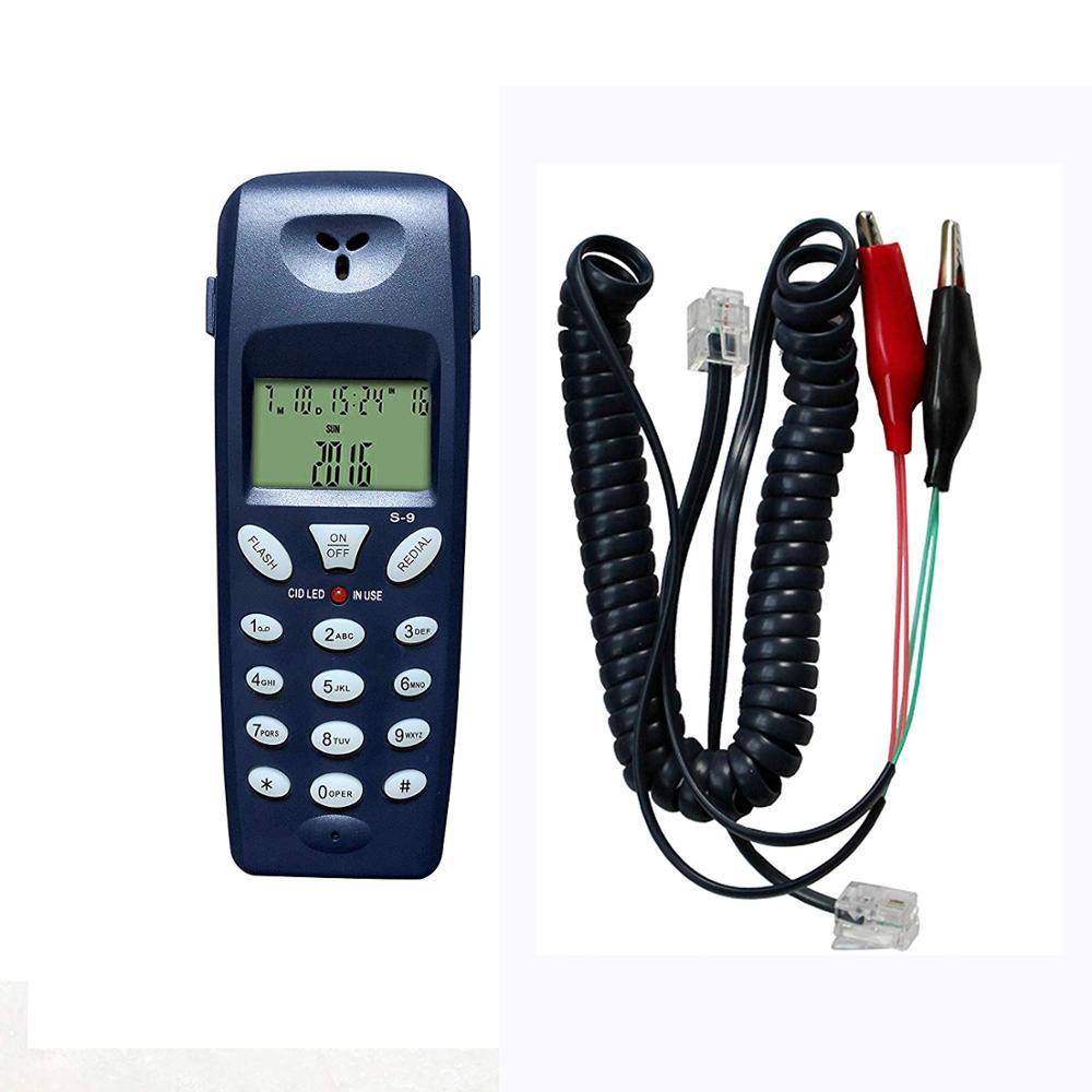 Telephone Phone Butt Test Tester Telecom Tool Network Cable Set Professional Test Device Check FOR Telephone Line Fault