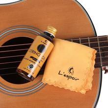 50 M/60 ML Gitarre Griffbrett Pflege Öl Griffbrett Zitrone Öl Reinigung Tuch Sets