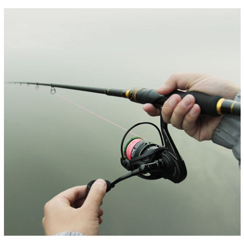 LINHU NEW 1.8M 2.1M 7Sections Spinnings Casting Rods Reel Combo Carbon Fishing Fish Pole Telescopic Fishing Rod Fishing Tackle enlarge