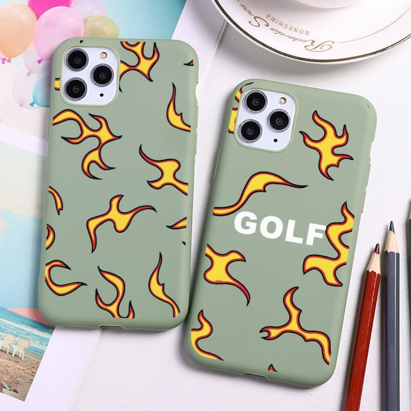 Coque de téléphone apple en Silicone vert bonbon, Golf killer the creator igor album, étui pour iPhone 12 mini 11 Pro Max X XR XS 8 7 6s Plus