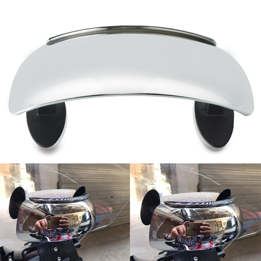 Para BMW K 1600 GT GTL CAGIVA Elefant 900 l E Navigator 1000 180 grados de ángulo amplio de espejo retrovisor de punto ciego espejo