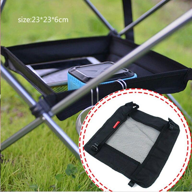 Outdoor Klapptisch Lagerung Hängenden Korb Wilden Rack Camping Tasche Finishing Net Picknick camping lagerung mesh tasche