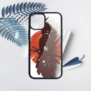 Image 4 - Японская Маска самурая oni чехол для телефона ПК для iPhone 11 12 pro XS MAX 8 7 6 6S Plus X 5S SE 2020 XR