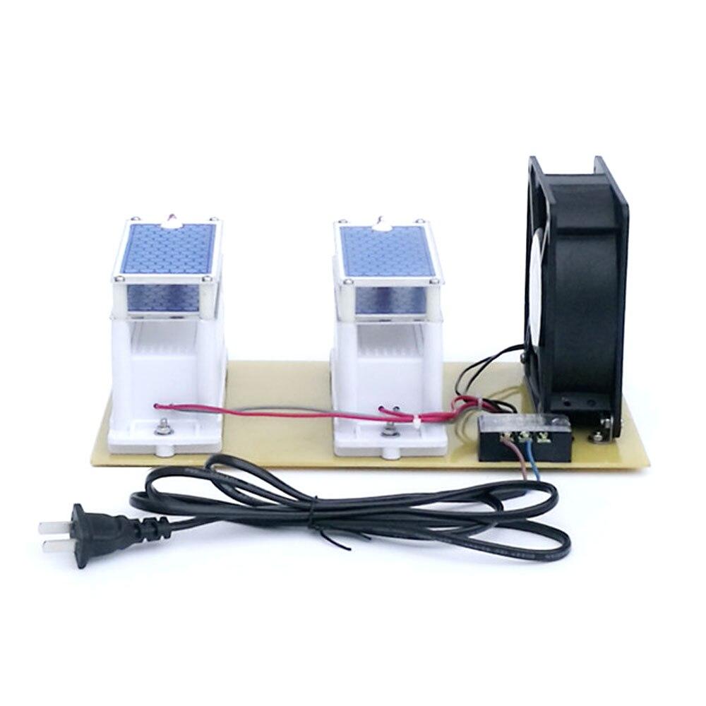 english version 2l 9l air purifier 110v 220v for us customer 20g 110V/220V Ozone Generator & Fan Ozone Disinfection Machine Air Purifier Tool