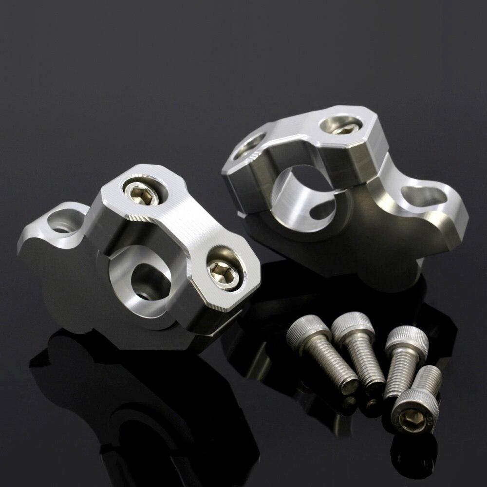 Para HONDA NC700S/X NC750S/X CB500F/X motocicleta elevador de manillar abrazadera extensible adaptador