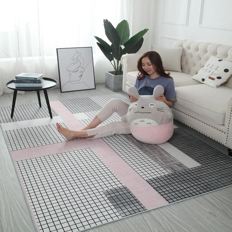سجادة غرفة نوم بنمط هندسي ، ديكور منزلي ، أريكة ، طاولة قهوة ، أرضية ، مقاسات سوبر ، غرفة معيشة ، غرفة دراسة