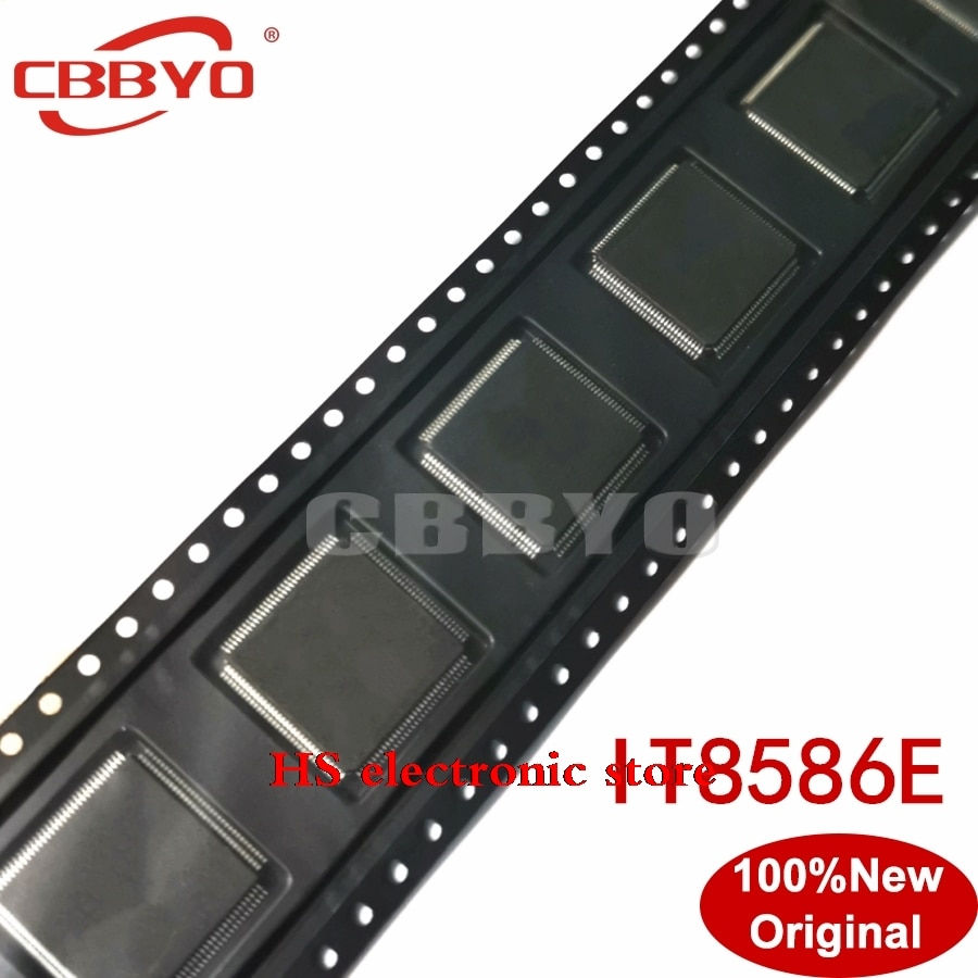 10 قطعة/الوحدة جديد IT8586E 8586E FXA FXS QFP-128 IC