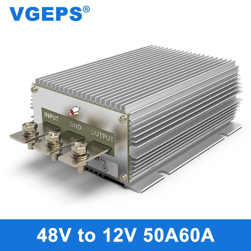 48 فولت إلى 12 فولت منظم الطاقة السيارات وحدة 30-60 فولت إلى 12 فولت تنحى محول DC-DC محول السيارات