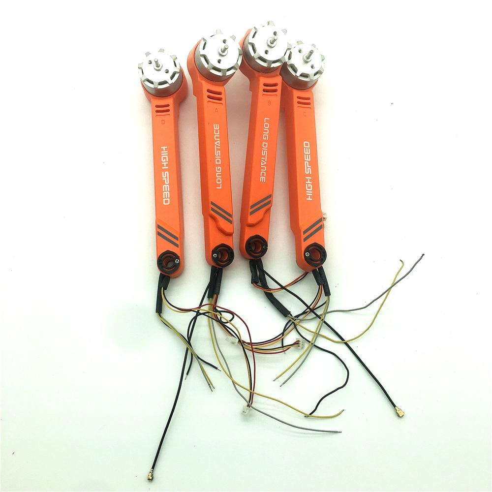 Braço de motor para drone jjrc x17, gps, 5g, wi-fi, fpv, peças de reposição, acessórios de motor, perna de drone